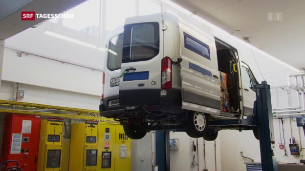 Video «Überraschende Ergebnisse bei grossen Dieselfahrzeugen» abspielen