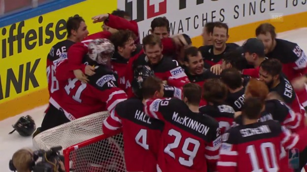 Video «Eishockey: WM-Final, Kanada - Russland» abspielen