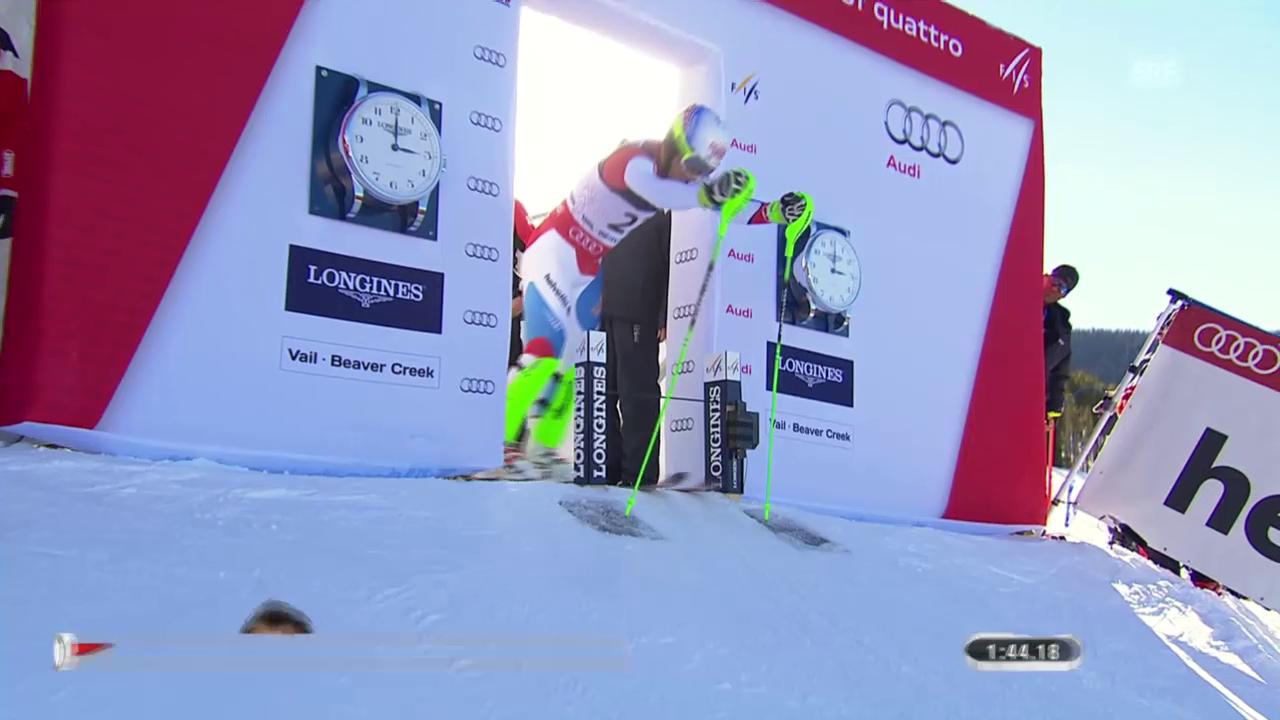 Ski: WM-Super-Kombi Männer, 2. Lauf Carlo Janka