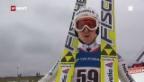 Video «Skispringen: Grossschanze Lillehammer» abspielen