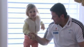 Video «Beat Hefti: Im Frühling zum dritten Mal Papa» abspielen