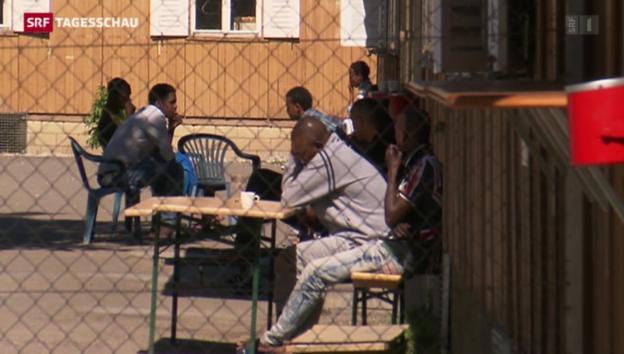 Video «Sommarugas Asylpläne finden Zustimmung» abspielen
