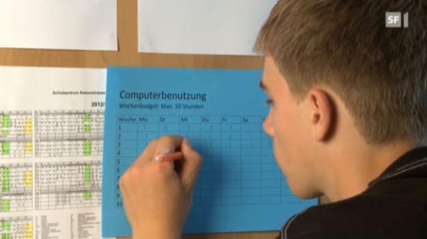 Video «Mit klaren Regeln gegen die Computersucht» abspielen