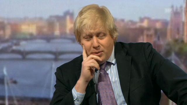 Boris Johnson wird grilliert