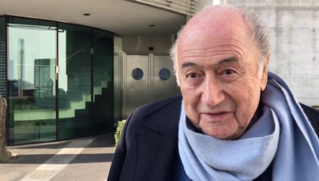 Video «Joseph S. Blatter: «Bin stolz auf die beschlossenen Reformen»» abspielen