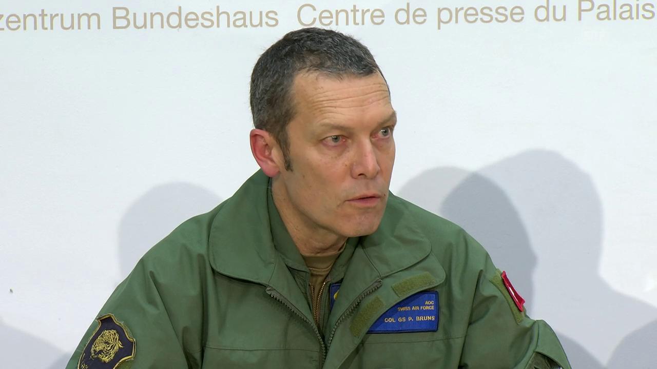 Bruns: «Pilot für Flugroute verantwortlich.»