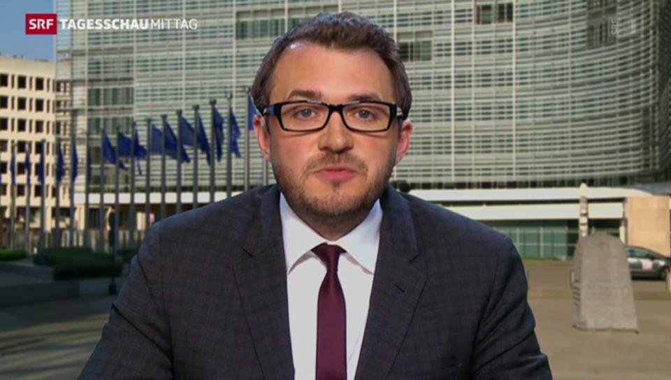 SRF-Korrespondent Sebastian Ramspeck zum EU-Verteilschlüssel