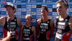 Video «Triathlon: Mixed-Team-WM in Hamburg» abspielen