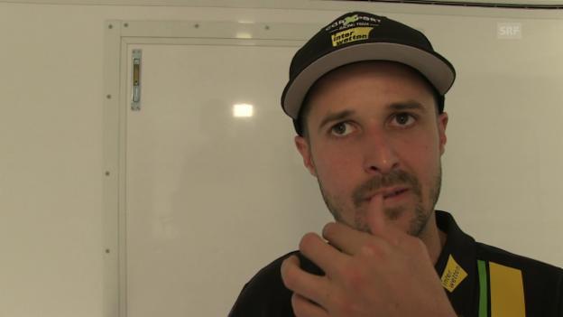 Video «Tom Lüthi: «Zweite Startreihe ist okay»» abspielen