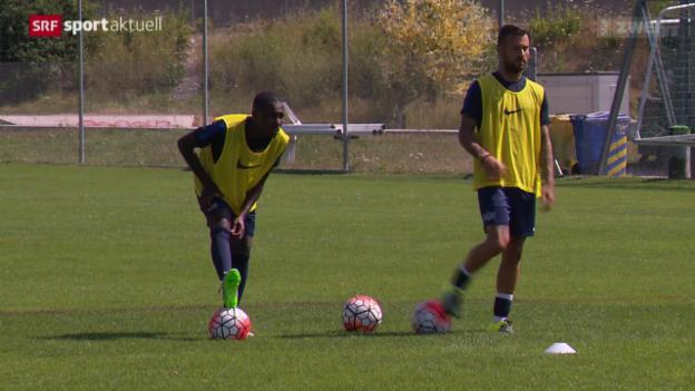 Video «Fussball: Gilles Yapi und Cabral - Neuer Anlauf beim FCZ» abspielen