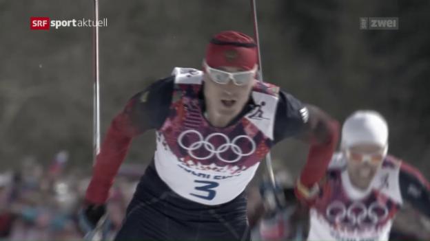 Video «Doping: Legkow unter den Suspendierten» abspielen