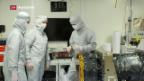 Video «Berner Weltraumteleskop bereit fürs All» abspielen