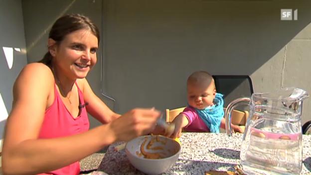 Video «Zu Besuch bei Anita Weyermann und ihrer Familie» abspielen