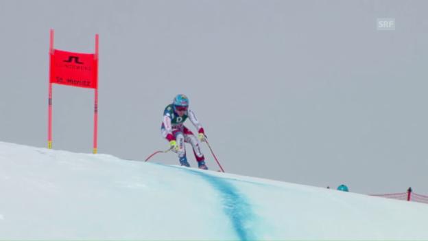 Video «Die Schweizerinnen melden im Training ihre Ambitionen an» abspielen