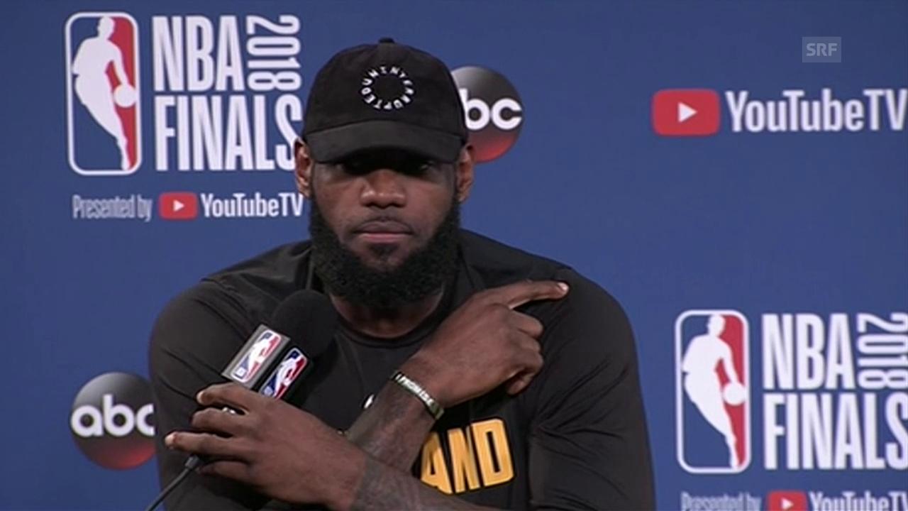 James: «Die Warriors sind eines der besten Teams der Geschichte»