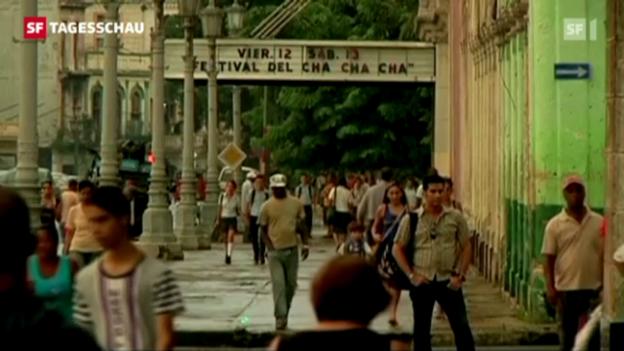 Video «Mehr Freiheiten für Kubaner» abspielen