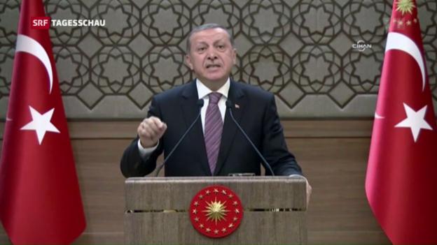 Video «Türkei fordert Strafverfahren gegen Böhmermann» abspielen