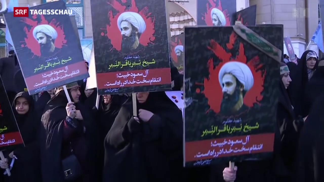 Weltweite Kritik an Saudi-Arabien