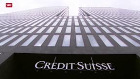 Video «Credit Suisse tritt auf die Sparbremse» abspielen