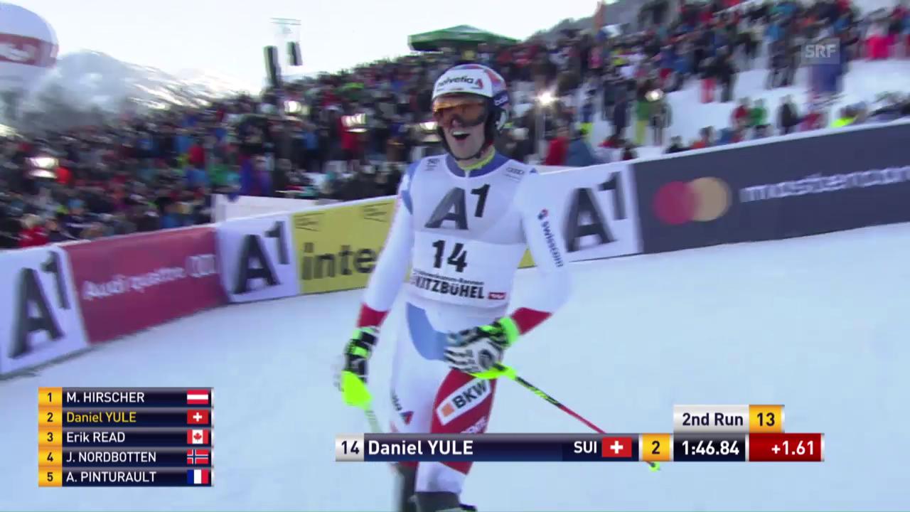 Der 2. Lauf von Daniel Yule