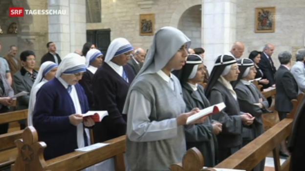 Video «Ostern in drei Kirchen im Nahen Osten» abspielen