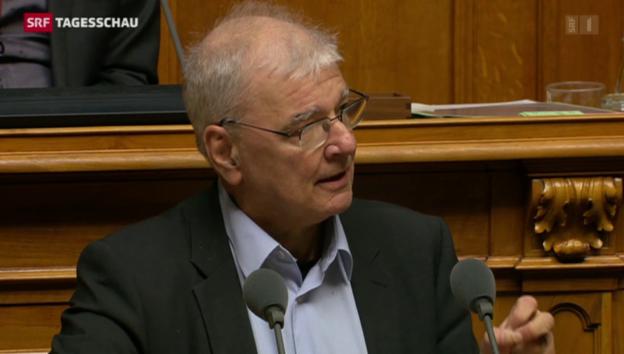 Video «Nachrichtendienst-Kritiker unterliegen im Nationalrat» abspielen