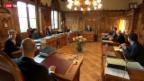 Video «Bundesrat entscheidet bis Ende April erneut über Ventilklausel» abspielen