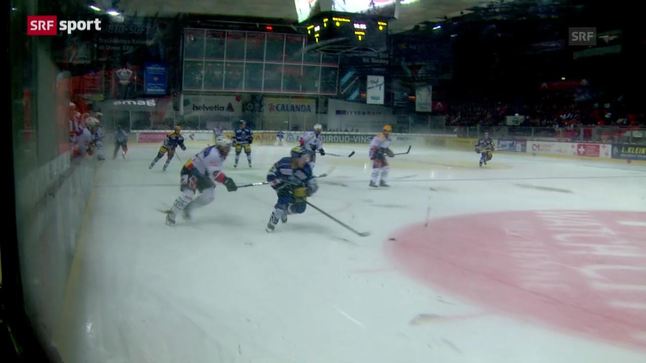 Spielbericht Biel - Bern («sportaktuell»)