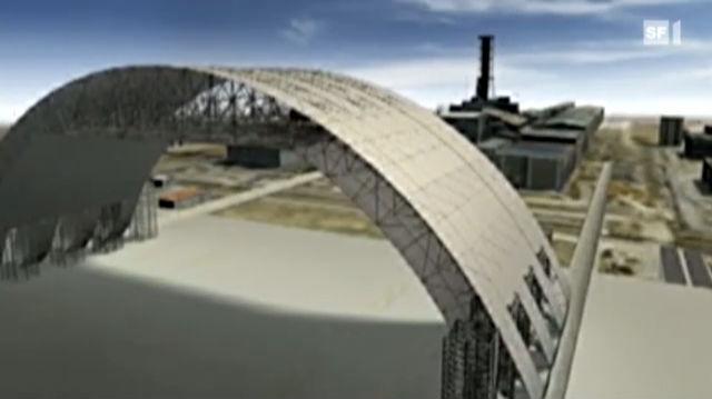 Tschernobyl: Das grösste Dach der Welt