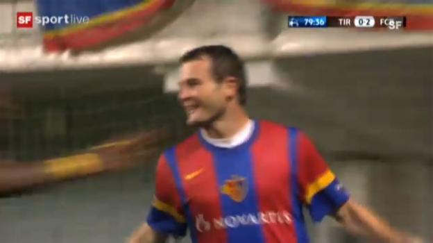Video «CL-Playoff: Tiraspol - Basel» abspielen