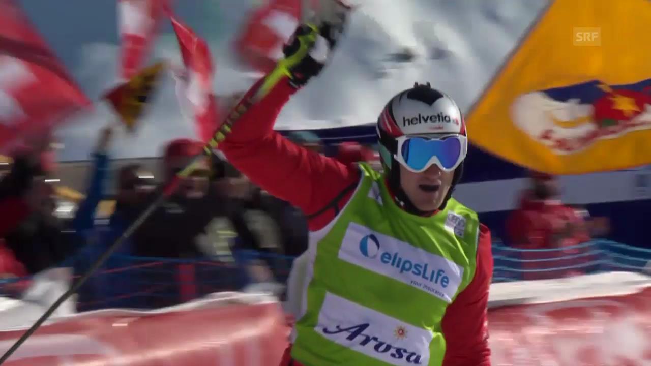 Zusammenfassung Skicross Arosa
