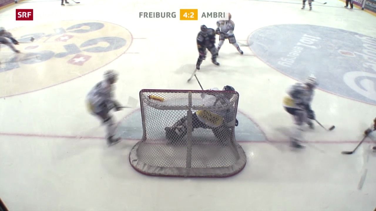 Eishockey: Zusammenfassung Freiburg - Ambri («sportlive», 11.03.2014)