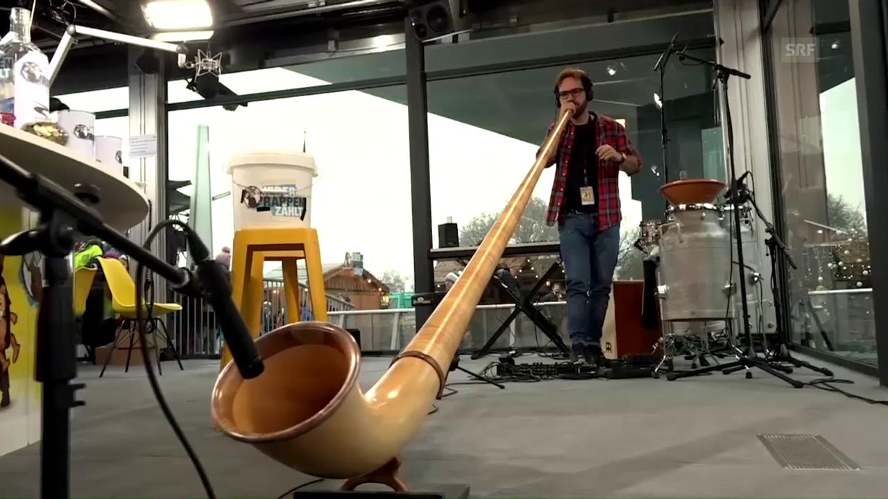 Enrico Lenzin live bei Jeder Rappen zählt 2016