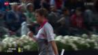 Video «Tennis: Rom-Viertelfinal Wawrinka - Nadal» abspielen