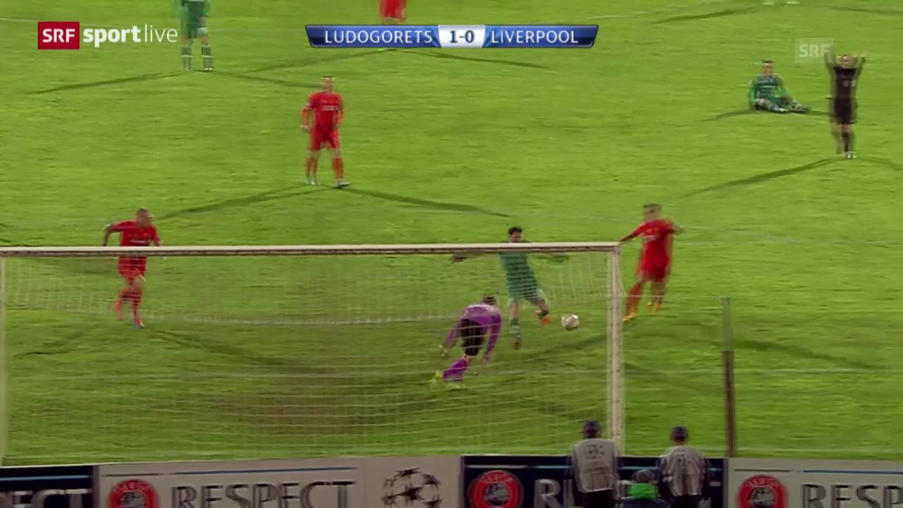 Zusammenfassung Ludogorets - Liverpool