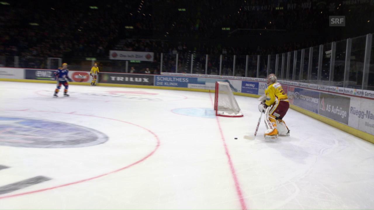 Der unglaubliche Lapsus von Genf-Goalie Mayer
