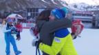 Video «Michelle Gisin feiert mit der Familie» abspielen