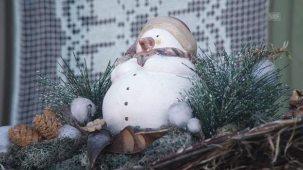 Video «Sonnig-winterliche Grüsse aus Sent» abspielen