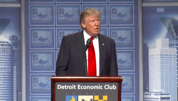 Video «Trump kritisiert Clinton» abspielen