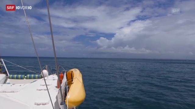 Zu Besuch auf den Virgin Islands (10vor10, 05.09.2013)