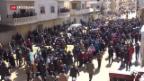 Video «Assad unterstützt Kurden in Nordsyrien» abspielen