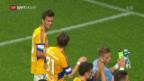 Video «Fussball: Cup, Servette - Luzern» abspielen