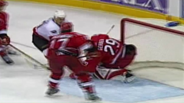 Video «Schweizer Goalies in der NHL» abspielen