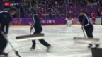 Video «Eishockey: Die flinken Eiswischer» abspielen