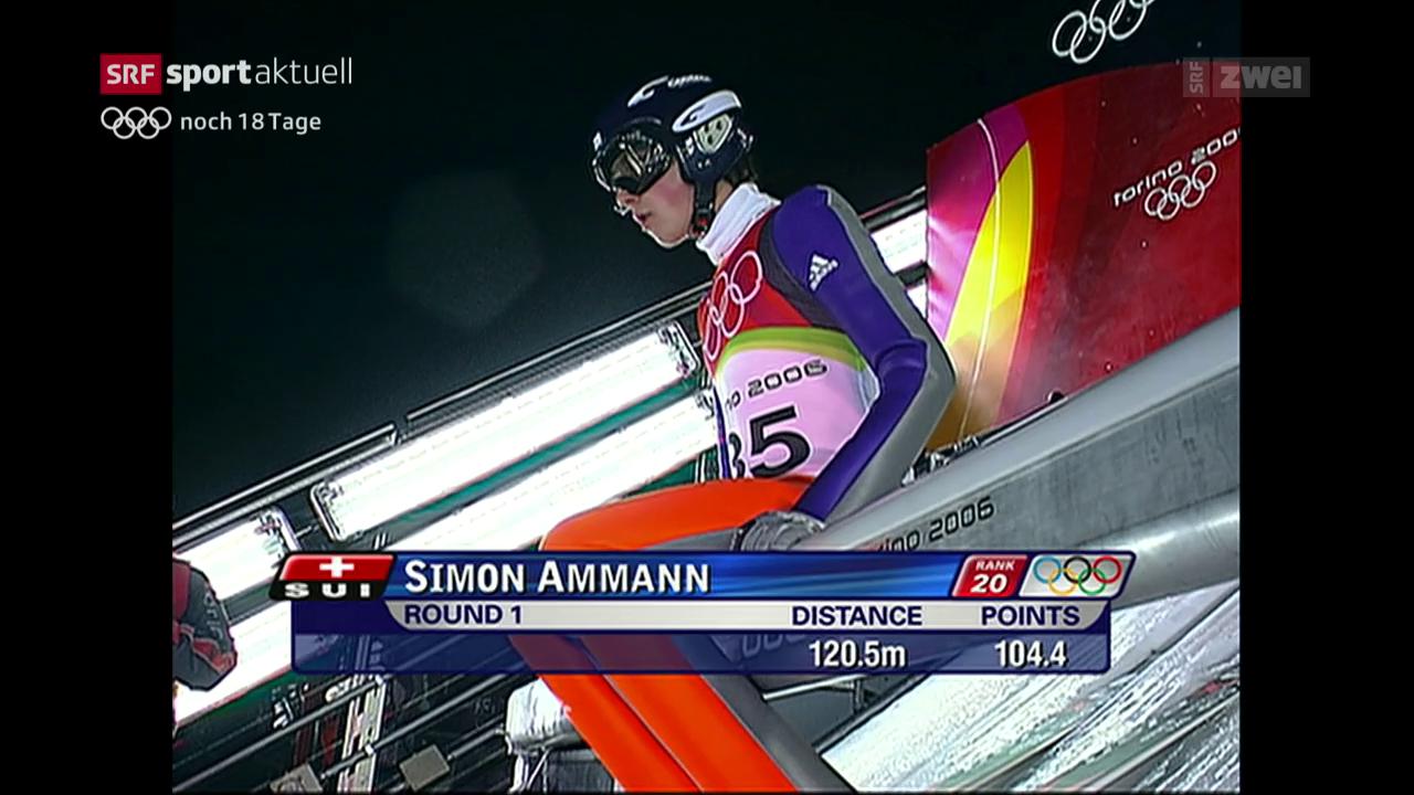 Olympiaserie: Ammann geht in Turin leer aus