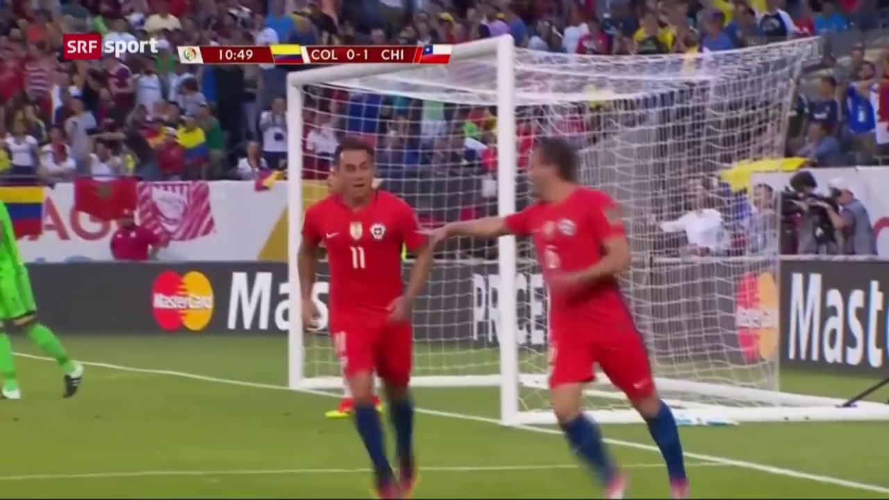 Chile folgt Argentinien in den Copa-Final
