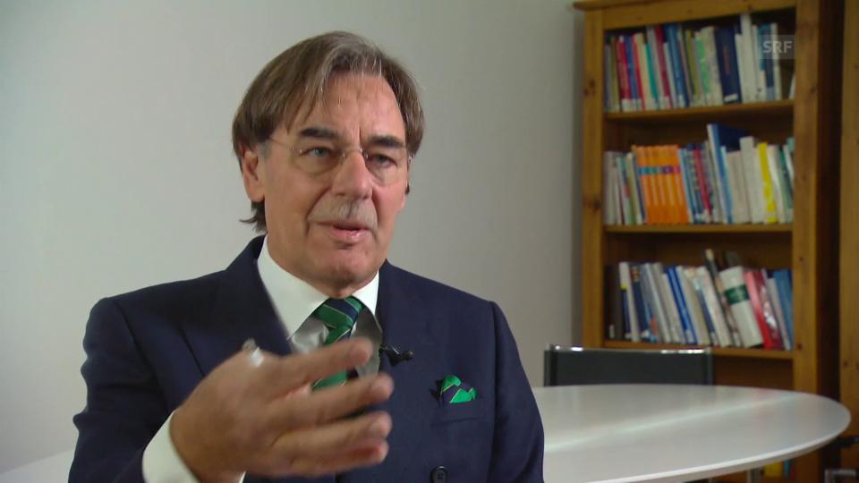 FMCH-Präsident Josef Brandenberg relativiert die Aussagekraft von Mindestfallzahlen und weist auf die Zweischneidigkeit von Grenzwerten hin.