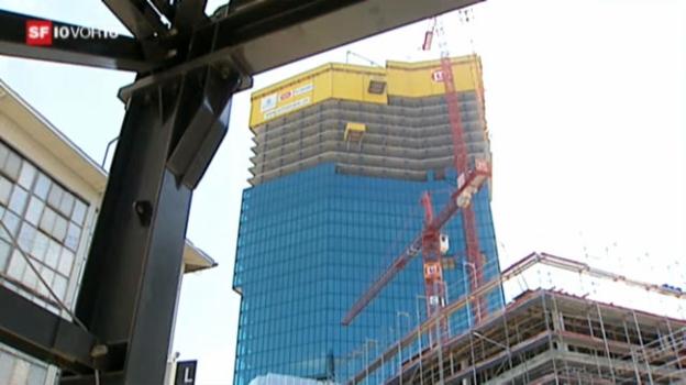 Video «Prime Tower als Zeichen für Bauboom» abspielen