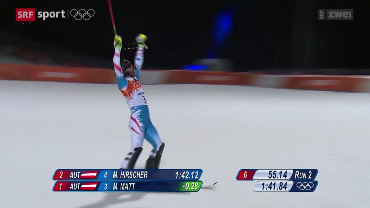 Ski Alpin: Slalom der Männer