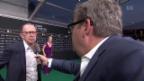 Video «Mike Müller interviewt Viktor Giacobbo am Zurich Film Festival» abspielen